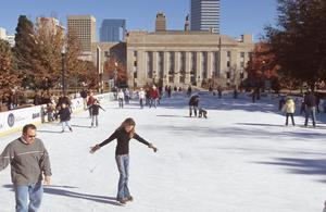 Primary view of object titled 'Ice Skating Rink'.