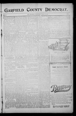 Primary view of object titled 'Garfield County Democrat. (Enid, Okla.), Vol. 11, No. 23, Ed. 1 Wednesday, March 27, 1907'.