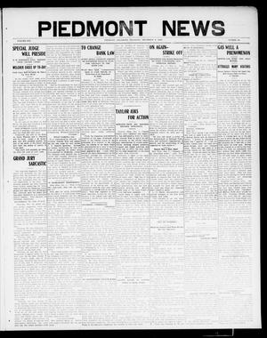 Primary view of object titled 'Piedmont News (Piedmont, Okla.), Vol. 1, No. 46, Ed. 1 Thursday, December 9, 1909'.