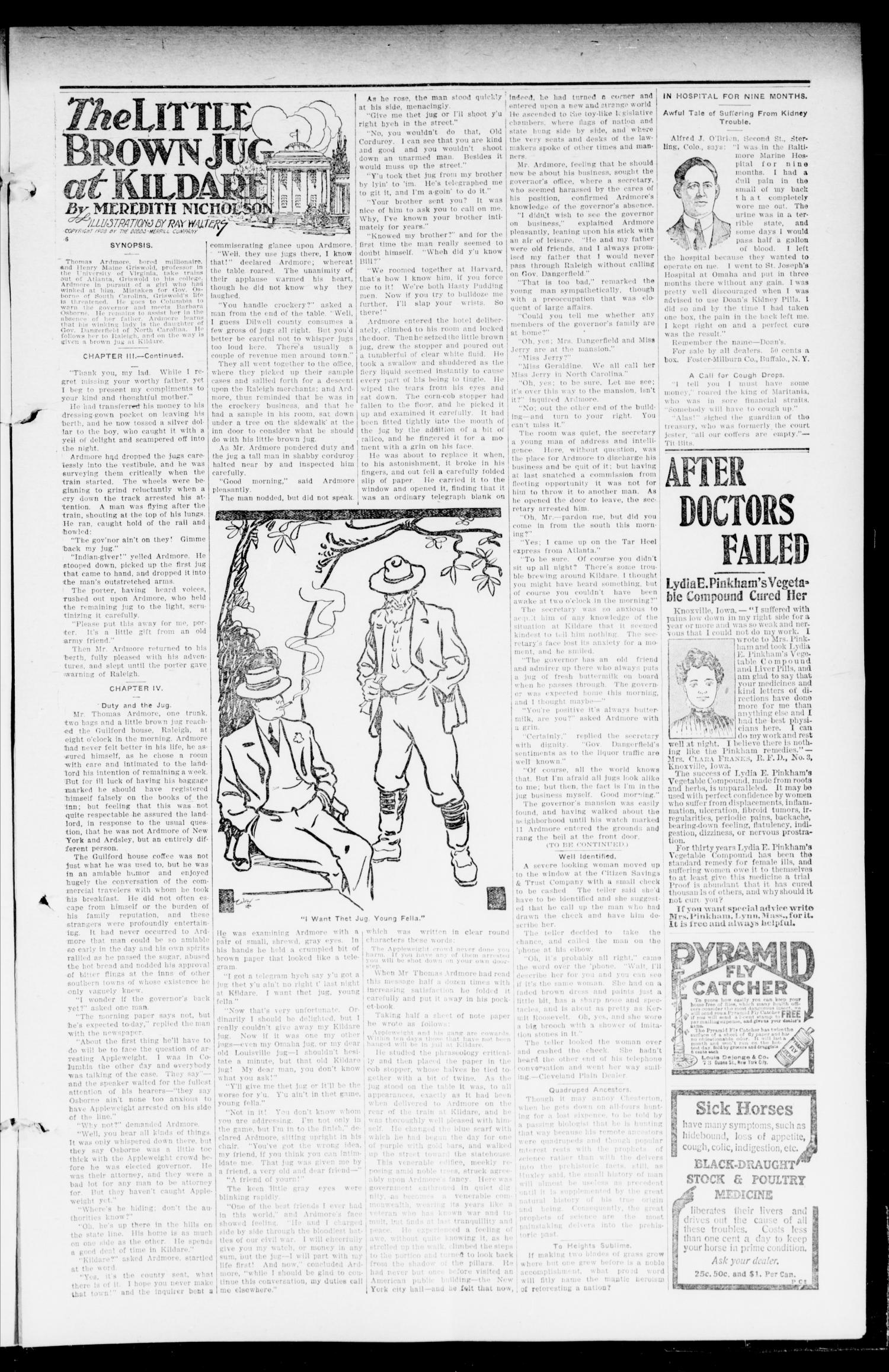The Calumet Chieftain. (Calumet, Okla.), Vol. 2, No. 36, Ed. 1 Friday, April 8, 1910                                                                                                      [Sequence #]: 3 of 8