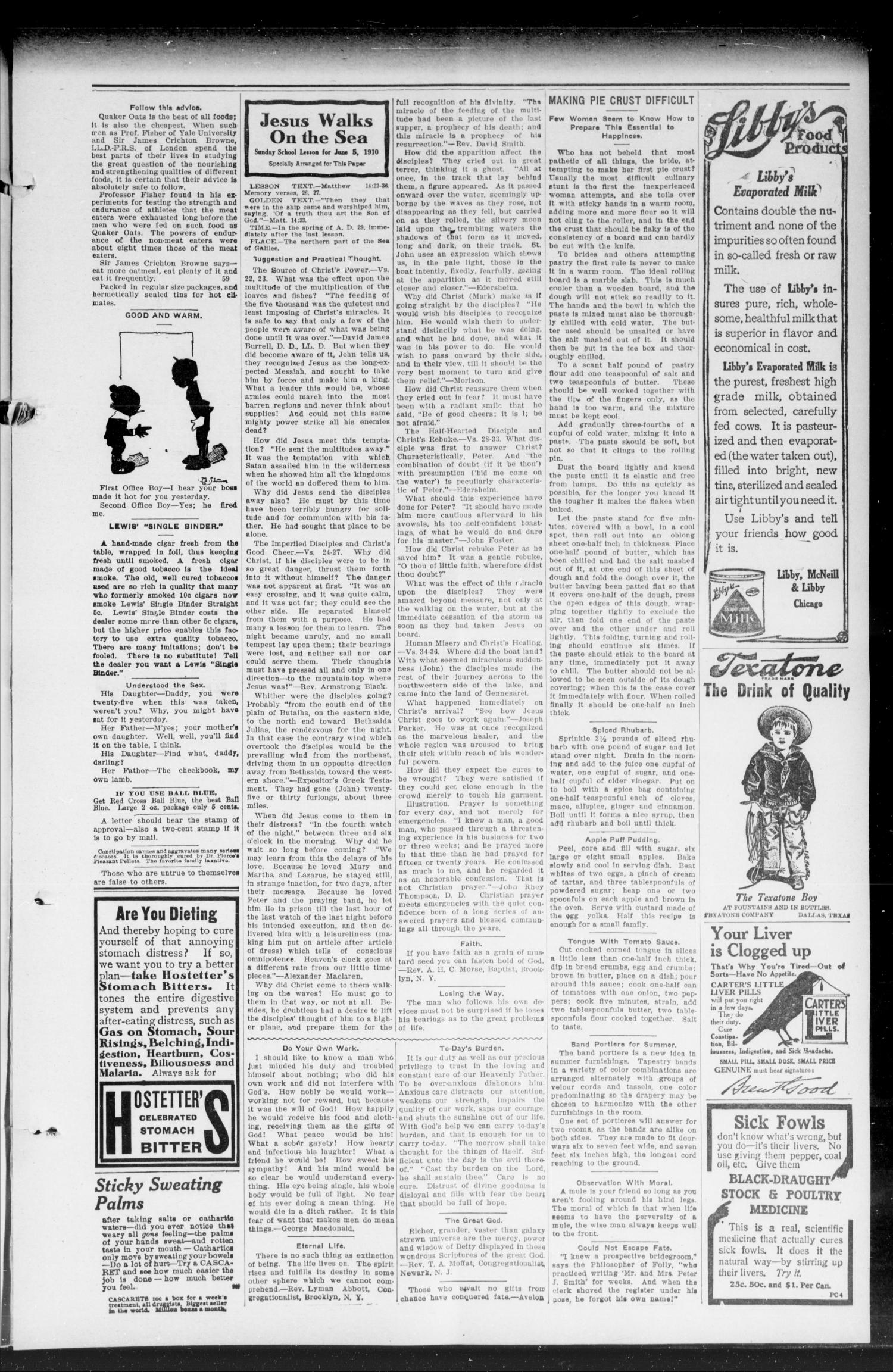 The Calumet Chieftain. (Calumet, Okla.), Vol. 2, No. 41, Ed. 1 Friday, June 3, 1910                                                                                                      [Sequence #]: 3 of 8