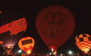 Primary view of object titled 'Night Glow Balloon Festival'.