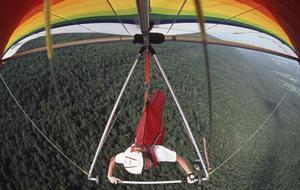 Primary view of object titled 'Buffalo Mountain Hang Gliders'.
