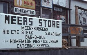 Primary view of object titled 'Meers General Store'.