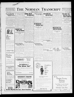 Primary view of object titled 'The Norman Transcript (Norman, Okla.), Vol. 9, No. 71, Ed. 1 Tuesday, June 14, 1921'.