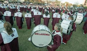 Primary view of University of Oklahoma Game Day