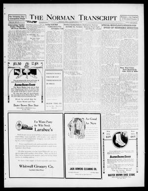 Primary view of object titled 'The Norman Transcript (Norman, Okla.), Vol. 9, No. 131, Ed. 1 Tuesday, November 1, 1921'.