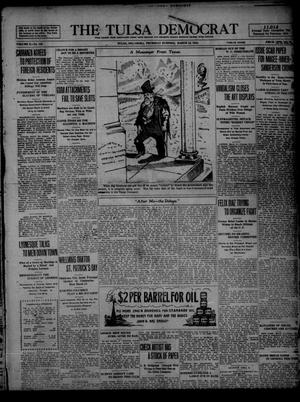 Primary view of object titled 'The Tulsa Democrat (Tulsa, Okla.), Vol. 10, No. 156, Ed. 1 Thursday, March 12, 1914'.