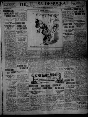 Primary view of object titled 'The Tulsa Democrat (Tulsa, Okla.), Vol. 10, No. 163, Ed. 1 Thursday, March 19, 1914'.