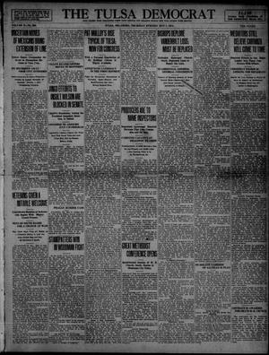Primary view of object titled 'The Tulsa Democrat (Tulsa, Okla.), Vol. 10, No. 209, Ed. 1 Thursday, May 7, 1914'.