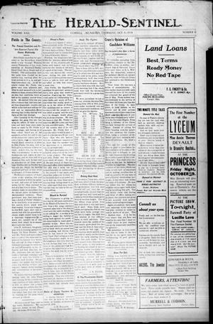 Primary view of The Herald-Sentinel. (Cordell, Okla.), Vol. 22, No. 6, Ed. 1 Thursday, October 8, 1914