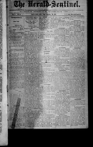 Primary view of object titled 'The Herald-Sentinel. (Cloud Chief, Okla. Terr.), Vol. 2, No. 45, Ed. 1 Saturday, September 23, 1893'.