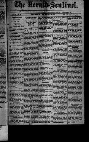 Primary view of object titled 'The Herald-Sentinel. (Cloud Chief, Okla. Terr.), Vol. 2, No. 46, Ed. 1 Saturday, September 30, 1893'.