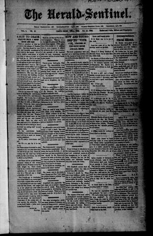 Primary view of object titled 'The Herald-Sentinel. (Cloud Chief, Okla. Terr.), Vol. 2, No. 51, Ed. 1 Friday, November 17, 1893'.