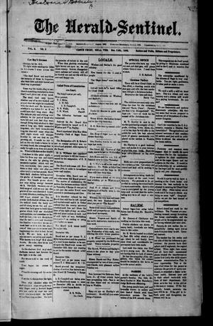 Primary view of object titled 'The Herald-Sentinel. (Cloud Chief, Okla. Terr.), Vol. 3, No. 3, Ed. 1 Friday, December 15, 1893'.