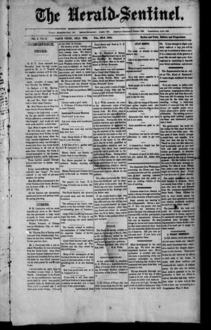 Primary view of object titled 'The Herald-Sentinel. (Cloud Chief, Okla. Terr.), Vol. 3, No. 12, Ed. 1 Friday, February 23, 1894'.