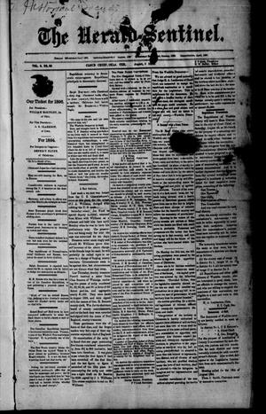 Primary view of The Herald-Sentinel. (Cloud Chief, Okla. Terr.), Vol. 3, No. 33, Ed. 1 Friday, August 3, 1894