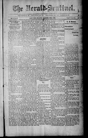 Primary view of The Herald-Sentinel. (Cloud Chief, Okla. Terr.), Vol. 4, No. 27, Ed. 1 Friday, June 7, 1895
