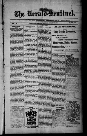 Primary view of The Herald-Sentinel. (Cloud Chief, Okla. Terr.), Vol. 5, No. 7, Ed. 1 Friday, January 17, 1896