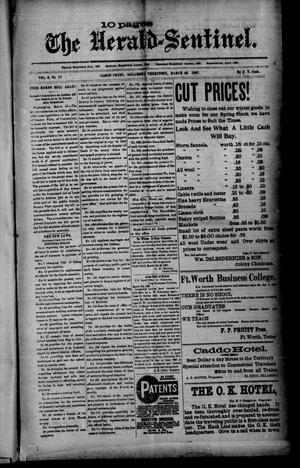 Primary view of The Herald-Sentinel. (Cloud Chief, Okla. Terr.), Vol. 6, No. 17, Ed. 1 Friday, March 26, 1897