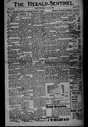 Primary view of object titled 'The Herald-Sentinel. (Cordell, Okla.), Vol. 14, No. 47, Ed. 1 Friday, June 15, 1906'.