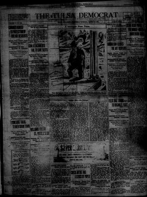 Primary view of object titled 'The Tulsa Democrat (Tulsa, Okla.), Vol. 10, No. 155, Ed. 1 Wednesday, March 11, 1914'.