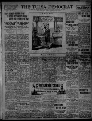 Primary view of object titled 'The Tulsa Democrat (Tulsa, Okla.), Vol. 10, No. 166, Ed. 1 Sunday, March 22, 1914'.