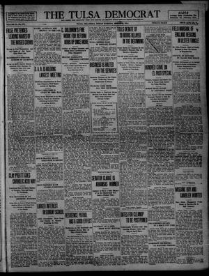 Primary view of object titled 'The Tulsa Democrat (Tulsa, Okla.), Vol. 10, No. 171, Ed. 1 Friday, March 27, 1914'.