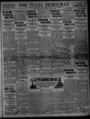 Primary view of object titled 'The Tulsa Democrat (Tulsa, Okla.), Vol. 10, No. 185, Ed. 1 Friday, April 10, 1914'.