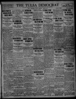 Primary view of object titled 'The Tulsa Democrat (Tulsa, Okla.), Vol. 10, No. 187, Ed. 1 Sunday, April 12, 1914'.