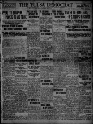 Primary view of object titled 'The Tulsa Democrat (Tulsa, Okla.), Vol. 10, No. 203, Ed. 1 Friday, May 1, 1914'.