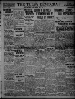Primary view of object titled 'The Tulsa Democrat (Tulsa, Okla.), Vol. 10, No. 205, Ed. 1 Sunday, May 3, 1914'.