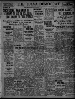 Primary view of object titled 'The Tulsa Democrat (Tulsa, Okla.), Vol. 10, No. 206, Ed. 1 Monday, May 4, 1914'.