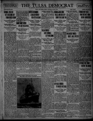 Primary view of object titled 'The Tulsa Democrat (Tulsa, Okla.), Vol. 10, No. 238, Ed. 1 Friday, June 5, 1914'.