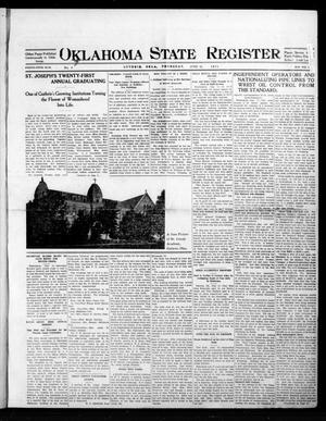 Primary view of object titled 'Oklahoma State Register. (Guthrie, Okla.), Vol. 25, No. 8, Ed. 1 Thursday, June 18, 1914'.