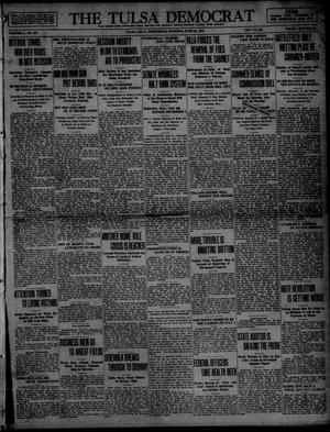 Primary view of object titled 'The Tulsa Democrat (Tulsa, Okla.), Vol. 10, No. 257, Ed. 1 Wednesday, June 24, 1914'.
