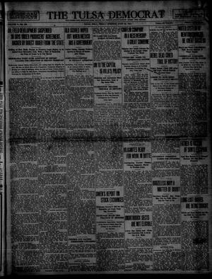 Primary view of object titled 'The Tulsa Democrat (Tulsa, Okla.), Vol. 10, No. 259, Ed. 1 Friday, June 26, 1914'.