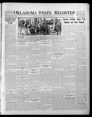 Primary view of object titled 'Oklahoma State Register. (Guthrie, Okla.), Vol. 25, No. 40, Ed. 1 Thursday, December 31, 1914'.