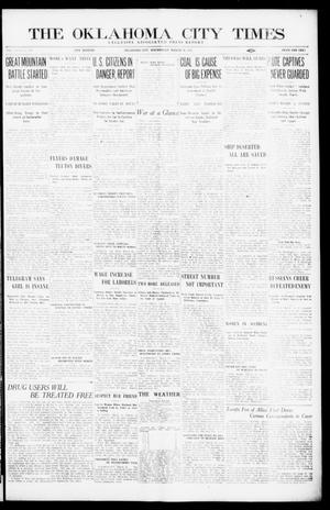 Primary view of object titled 'The Oklahoma City Times (Oklahoma City, Okla.), Vol. 26, No. 294, Ed. 1 Wednesday, March 24, 1915'.