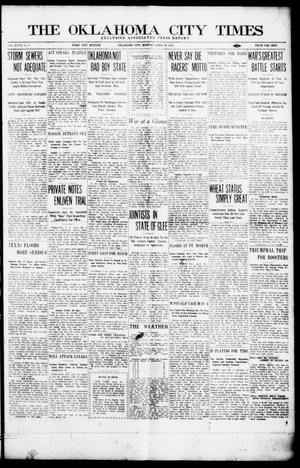 Primary view of object titled 'The Oklahoma City Times (Oklahoma City, Okla.), Vol. 27, No. 9, Ed. 1 Monday, April 26, 1915'.