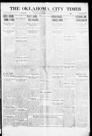 Primary view of object titled 'The Oklahoma City Times (Oklahoma City, Okla.), Vol. 27, No. 11, Ed. 1 Wednesday, April 28, 1915'.