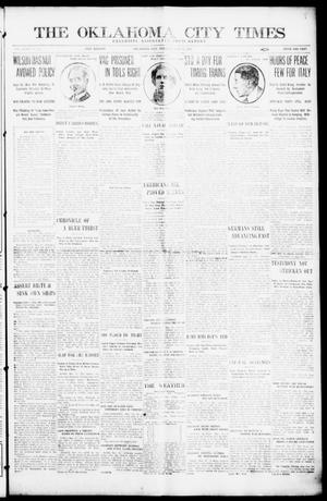 Primary view of object titled 'The Oklahoma City Times (Oklahoma City, Okla.), Vol. 27, No. 22, Ed. 1 Tuesday, May 11, 1915'.