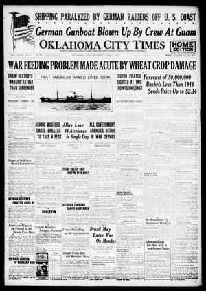 Primary view of Oklahoma City Times (Oklahoma City, Okla.), Vol. 29, No. 6, Ed. 1 Saturday, April 7, 1917