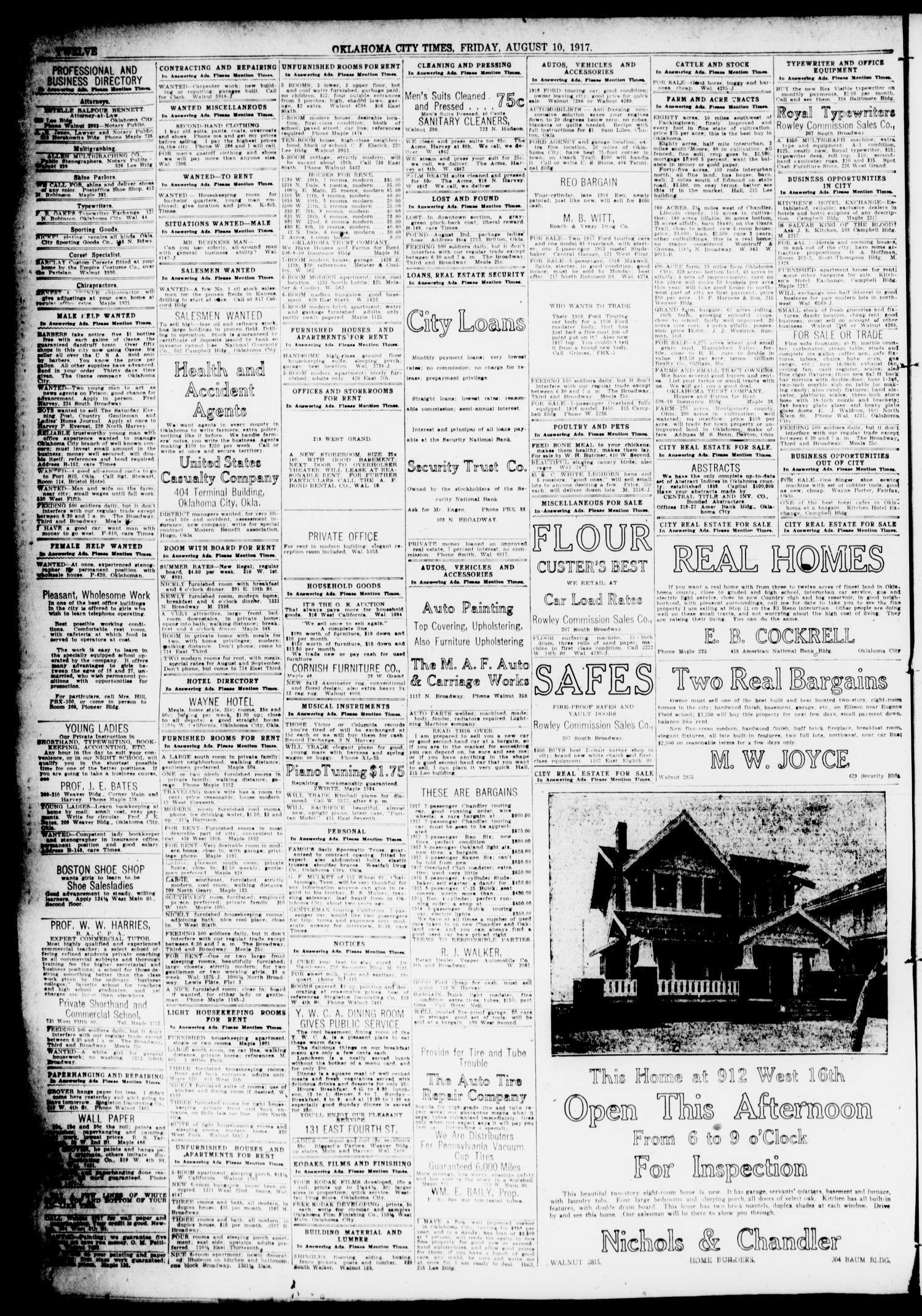 Oklahoma City Times (Oklahoma City, Okla ), Vol  29, No  113
