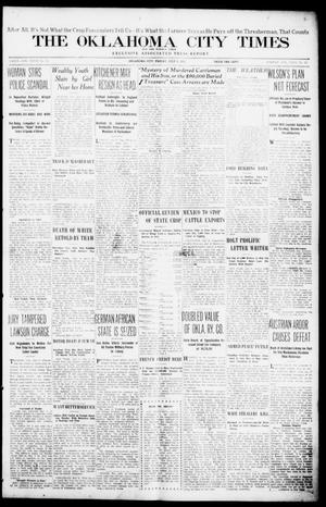 Primary view of object titled 'The Oklahoma  City Times And The Weekly Times (Oklahoma City, Okla.), Vol. 27, No. 73, Ed. 1 Friday, July 9, 1915'.