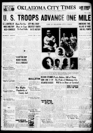 Primary view of Oklahoma City Times (Oklahoma City, Okla.), Vol. 30, No. 77, Ed. 1 Tuesday, July 2, 1918