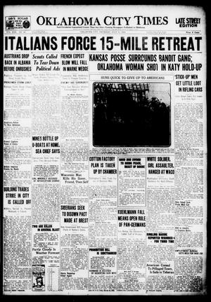 Primary view of object titled 'Oklahoma City Times (Oklahoma City, Okla.), Vol. 30, No. 85, Ed. 1 Thursday, July 11, 1918'.