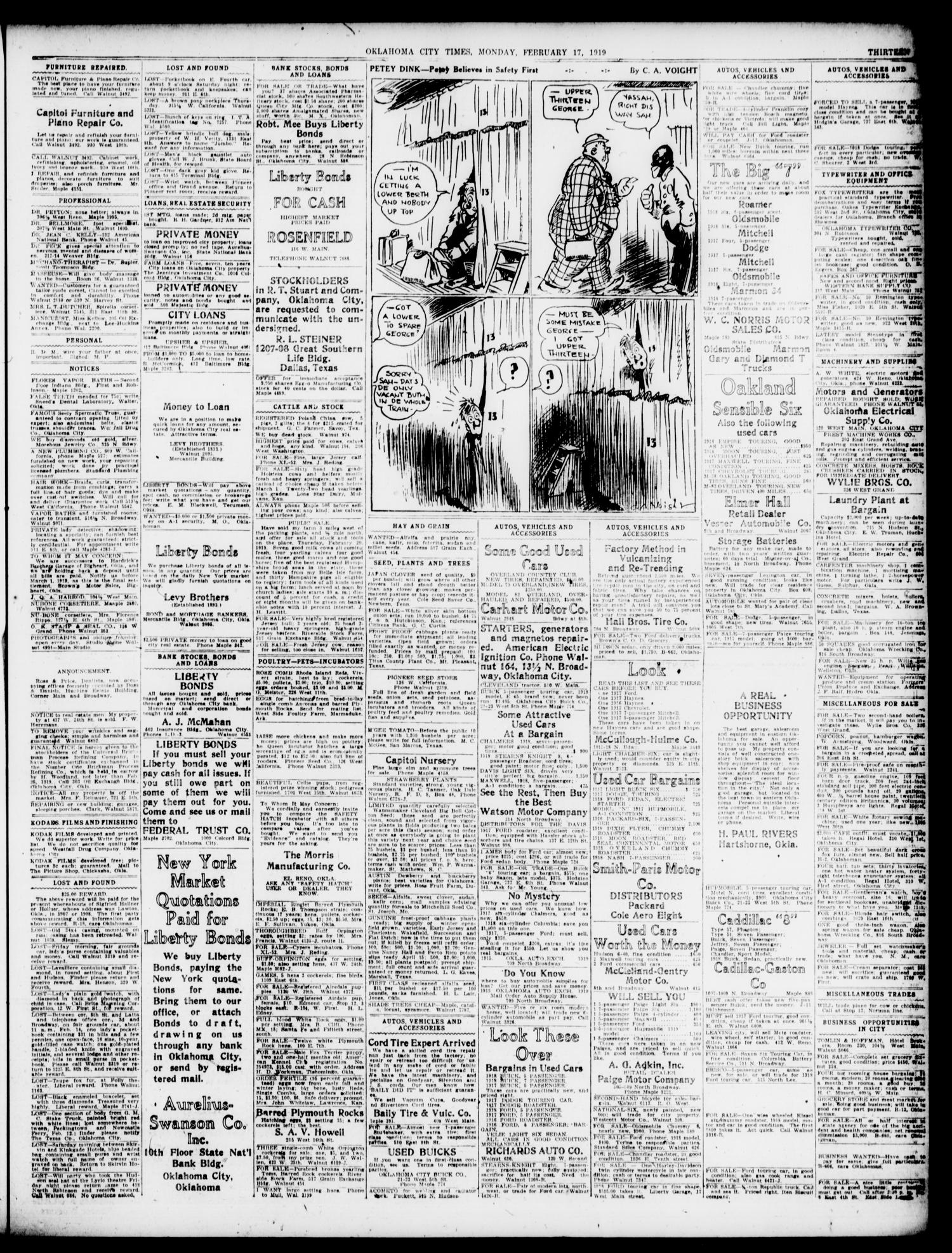 Oklahoma City Times (Oklahoma City, Okla.), Vol. 30, No. 274, Ed. 1 ...