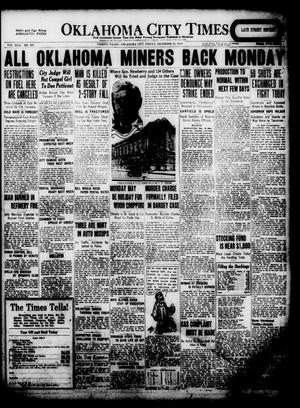 Primary view of object titled 'Oklahoma City Times (Oklahoma City, Okla.), Vol. 31, No. 207, Ed. 1 Friday, December 12, 1919'.