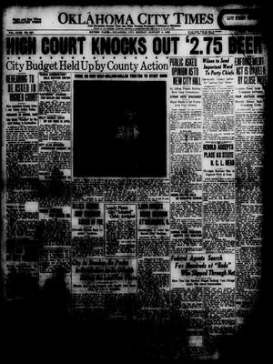 Primary view of object titled 'Oklahoma City Times (Oklahoma City, Okla.), Vol. 31, No. 227, Ed. 1 Monday, January 5, 1920'.